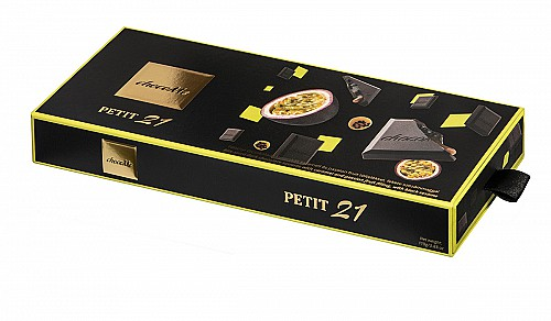 ChocoMe Petit 21 karamell és passion fruit