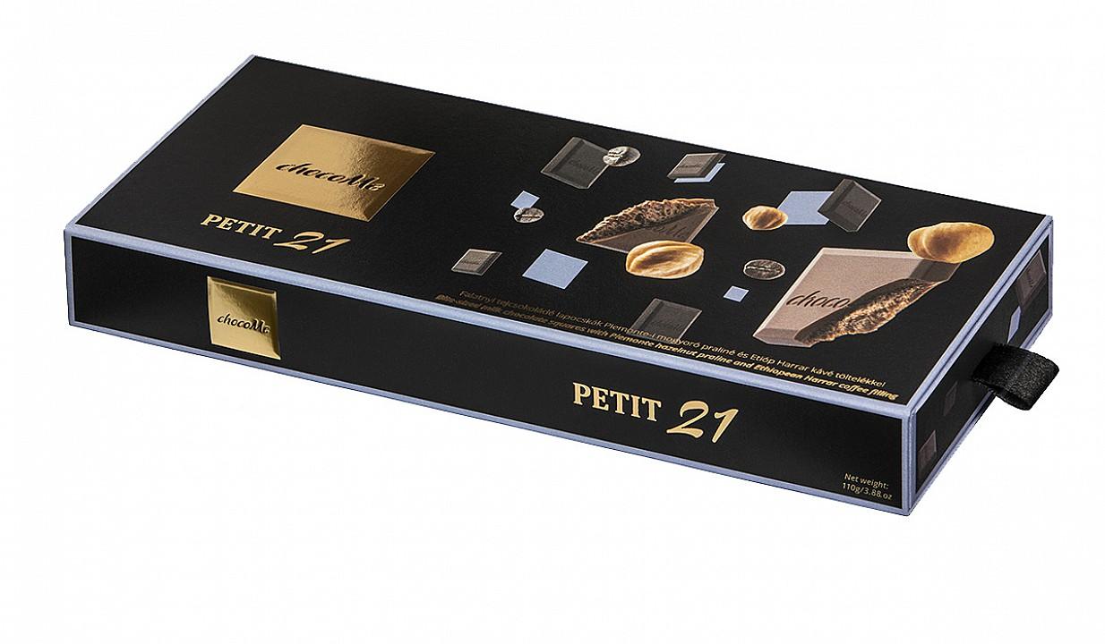 ChocoMe Petit 21 mogyoró és kávé