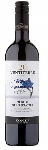 Zonin Ventiterre Nero d'Avola/Merlot