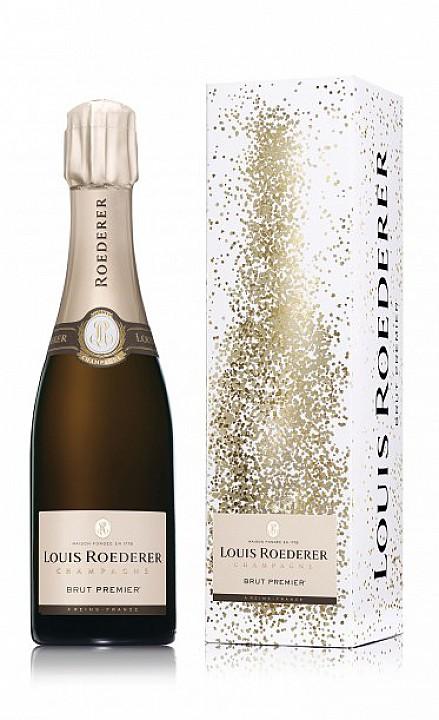 Champagne Louis Roederer Brut Premier -díszdobozzal-  (0,375 L) - Díszdobozban