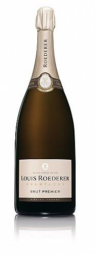 Champagne Louis Roederer Brut Premier Jeroboam (3 L) -fa díszdobozzal