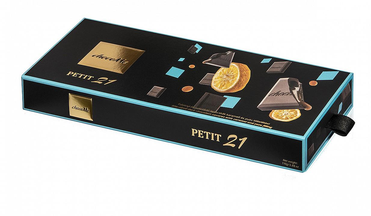 ChocoMe Petit 21 karamell és yuzu