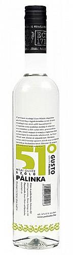 GUSTO 51° Irsai Olivér Szőlőpálinka
