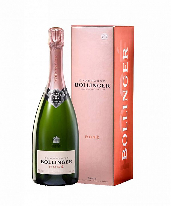 Bollinger Rosé Brut (0,75 L) -díszdobozzal-