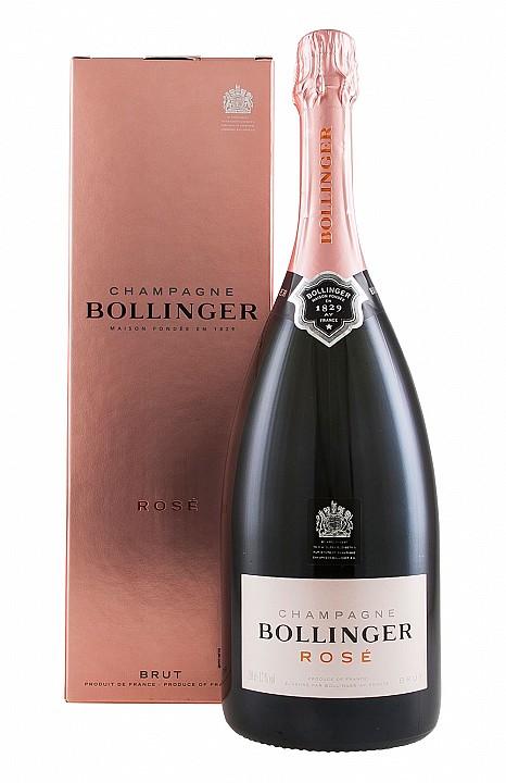 Bollinger Rosé Magnum (1,5 L) -díszdobozzal-