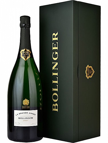 Bollinger La Grande Année Magnum 2012 (1,5 L) -zöld fa díszdobozzal-