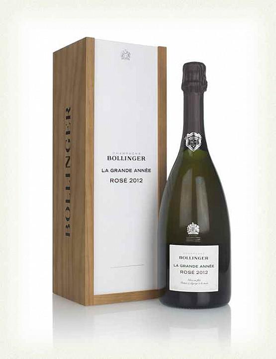Bollinger La Grande Année Rosé 2012 (0,75 L) -díszdobozzal-