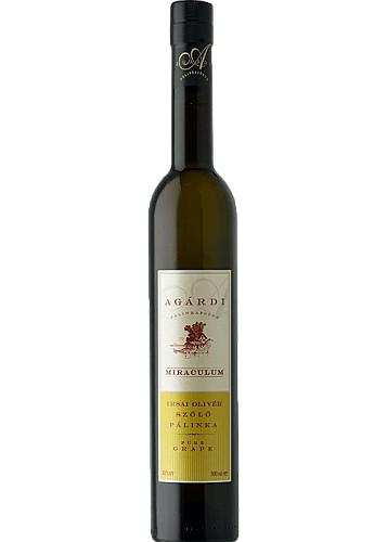 Agárdi Miraculum Irsai Olivér szőlő pálinka (0,5 L)